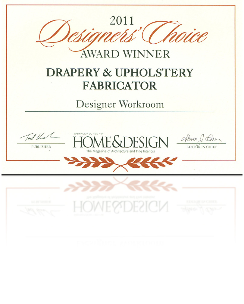 Designers Choice Award