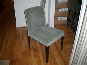 Dining_room_chair_gray_velvet_McLean_VA